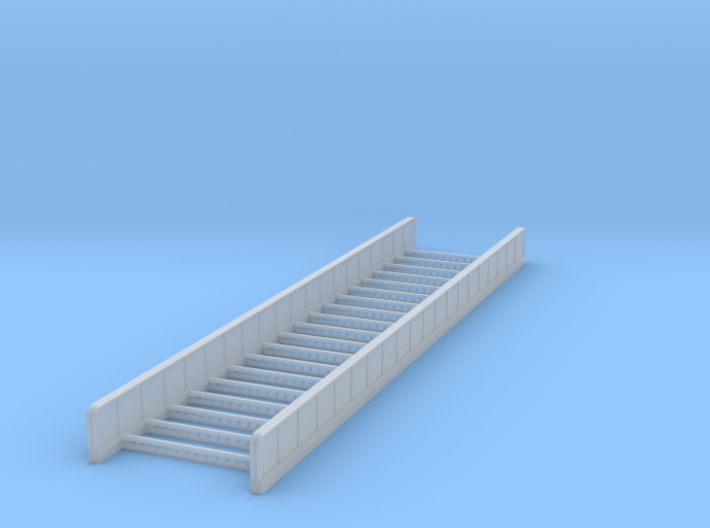 Plate Girder Bridge - 80 foot - Zscale 3d printed