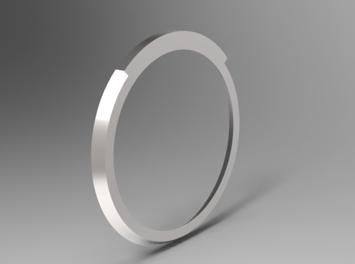 Triangle Taper Ring 16.7mm 3d printed