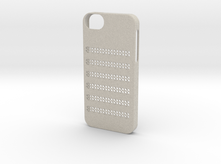 Iphone 5/5s flower case 3d printed