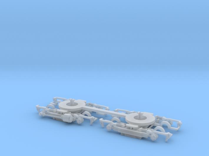 #00V Drehgestell Wegmann15 Roco-Adapter 3d printed