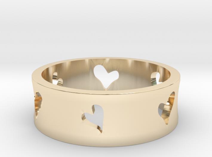 Lovers Series - Hearts 3d printed