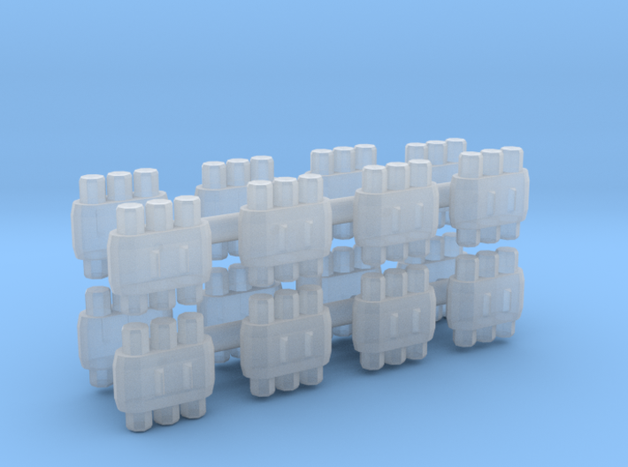 Energy Cell (16 Pack) 1:12 Scale 3d printed