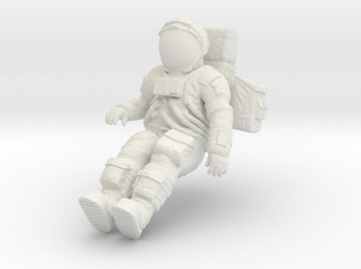 1: 24 Apollo Astronaut a7lb Type / LGV left 3d printed