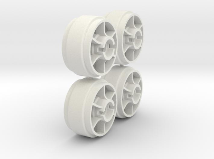 Mini-Z Wheels Ultralight for Slot-it pt29 3d printed