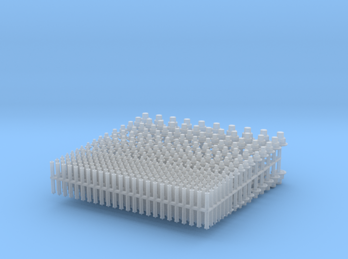 1:32 NBW USS Hex Nut Bolt Washer 3d printed