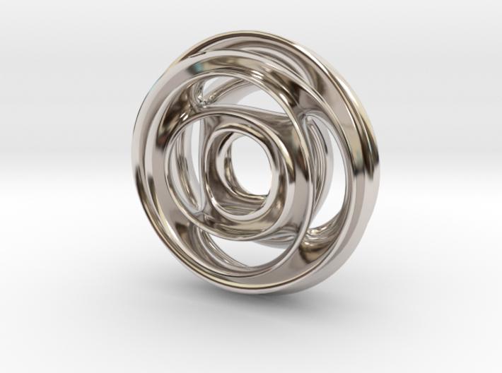 Wheel Pendant 3d printed