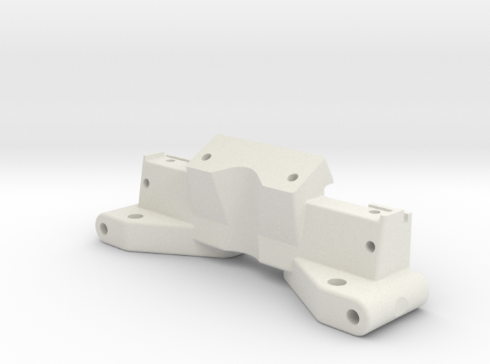 NIX62083 - RC10 front bulkhead with top deck mount 3d printed