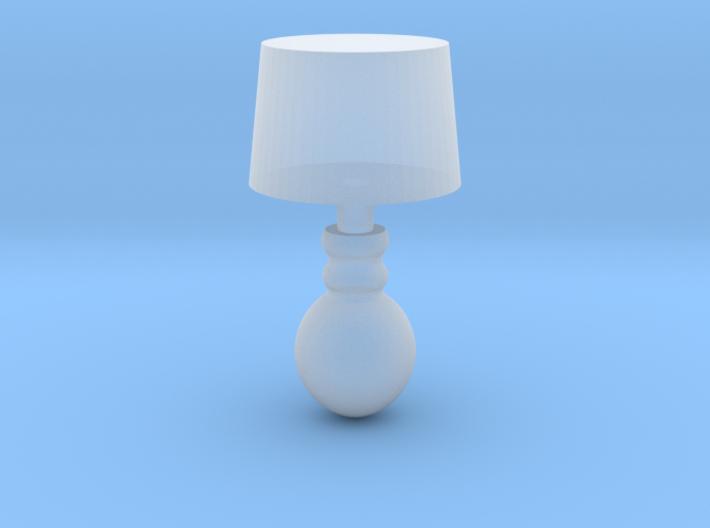 Miniature 1:48 Table Lamp 3d printed