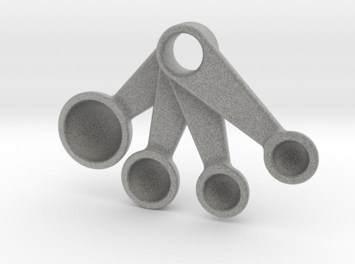 Measuring Spoons Pendant 3d printed