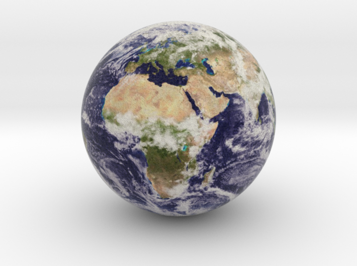 Tiny Earth 3d printed
