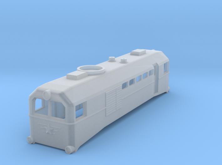 Russian TU2 TT Scale (1:120) 3d printed