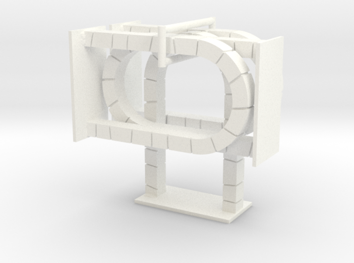 HeroQuest open door v.01 (4x) 3d printed