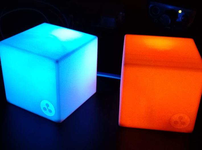 Maia Light Cube 3d printed