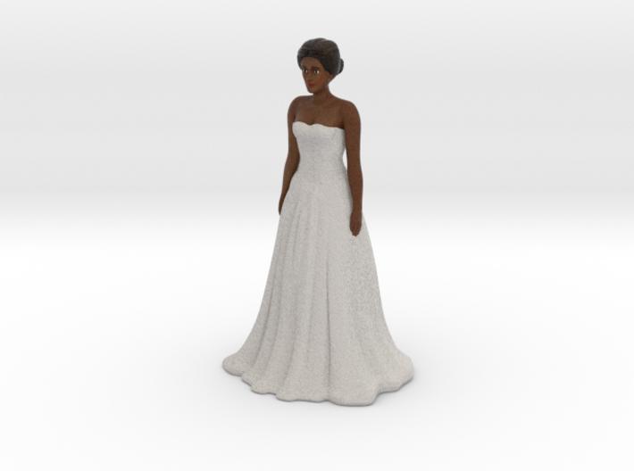 Dark Brunette Bride (v.1) 3d printed