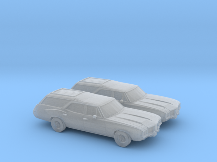 1/160 2X 1968-72 Oldsmobile Vista Cruiser 3d printed
