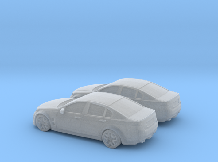 1/160 2X Holden Commodore 3d printed