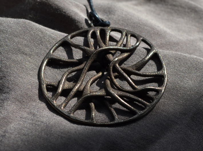 'Connect' Pendant 3d printed