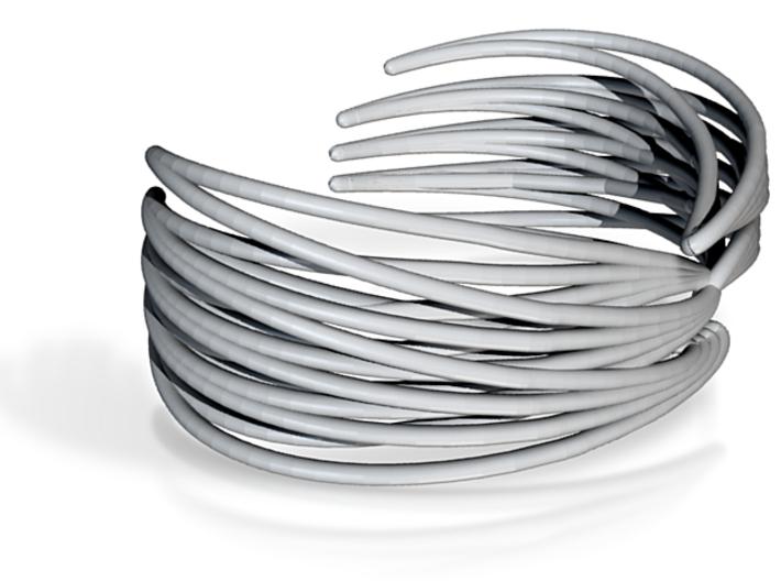 Ryb Cuff Steel 3d printed