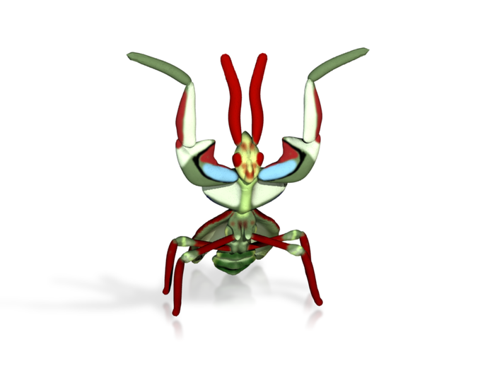 Devil Mantis 3d printed