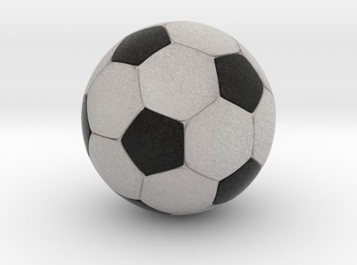 Foosball 3.43cm diameter 3d printed