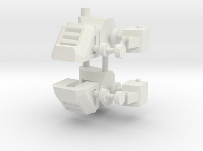 Feet KO TFC Slingshot/Fireflight V2.1 3d printed