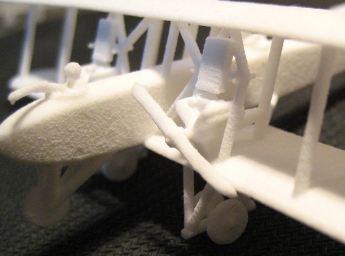 Letord 1 3d printed Closeup of engines and crew - actual print