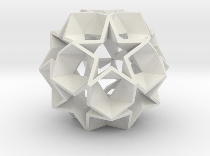 12 Star Ball - 3.4 cm 3d printed