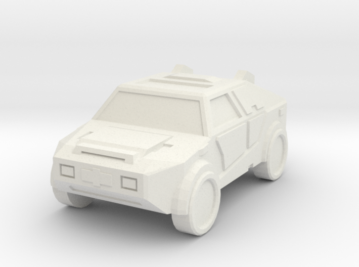 """Masterson"" Utility Vehicle 10mm 3d printed"