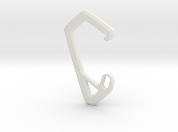 SCOTT Carabiner *Large* DH007SW 3d printed