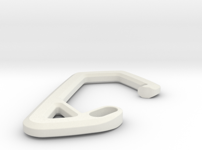 SCOTT Carabiner *Small* DH009SW 3d printed