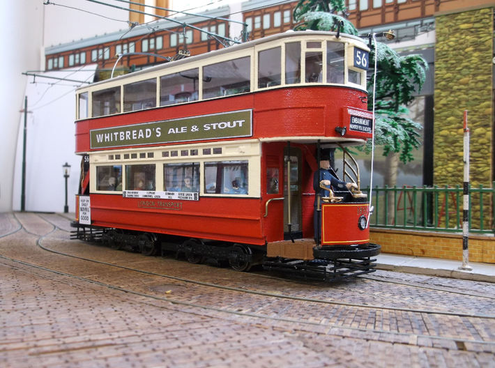1:43 L.T. E/1 500 Class Tram -open front - Part 1 3d printed Model built & detailed by Terry Russell