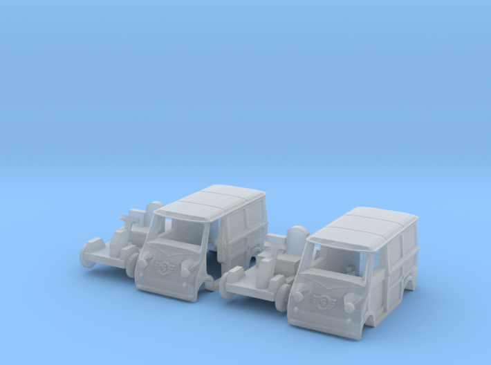 SET 2x Goggomobil Transporter (TT 1:120) 3d printed