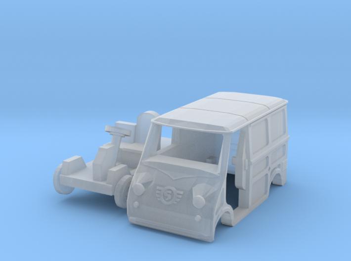 Goggomobil TL w/ opened door (TT 1:120) 3d printed