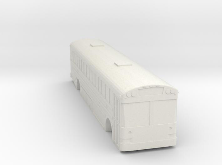 ho scale school bus 2015 international/ic re 300 3d printed
