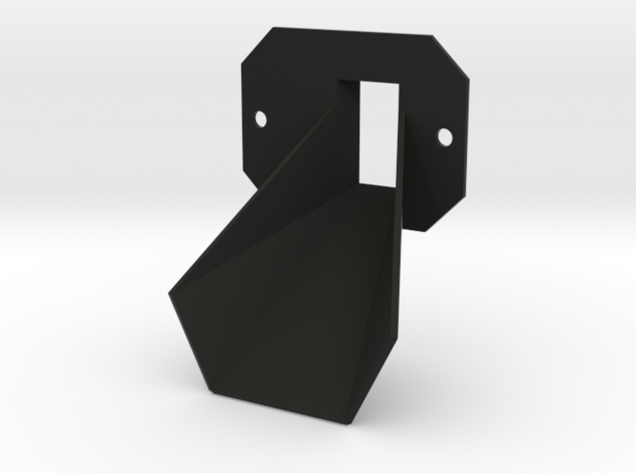 Rancilio Rocky Improved Chute 3d printed