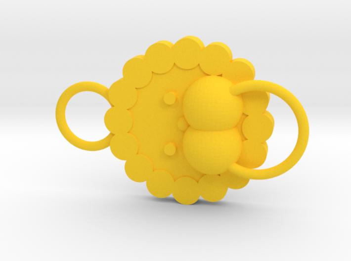 Pon de Lion - normal face 3d printed