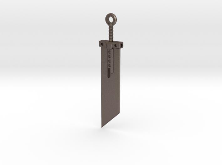 Fantasy Sword Keychain / Box Opener 3d printed