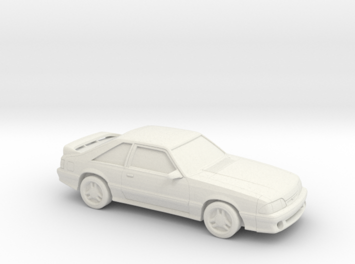 1/87 1987-93 Ford Mustang 3d printed