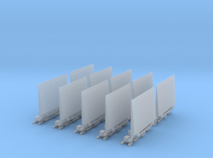 Ladebordwand GW-Versorgung 10x 3d printed