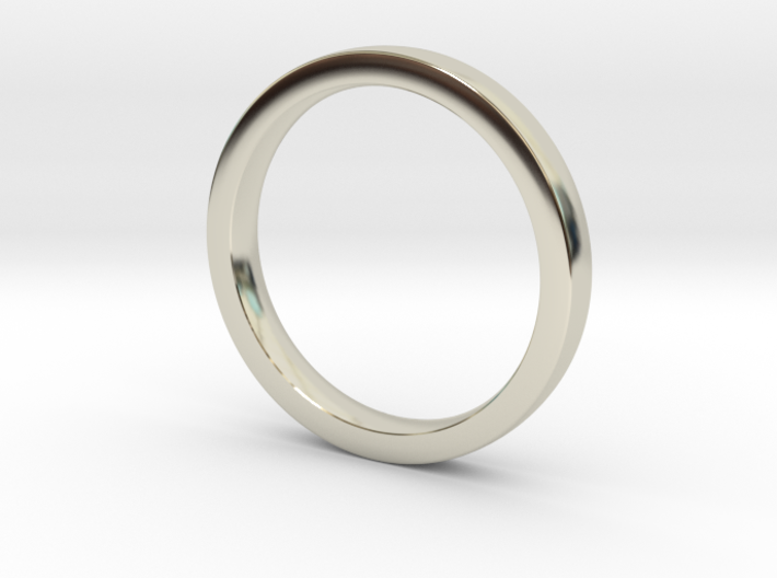 Wedding Band or everyday ring; 2.5mm size 7 3d printed