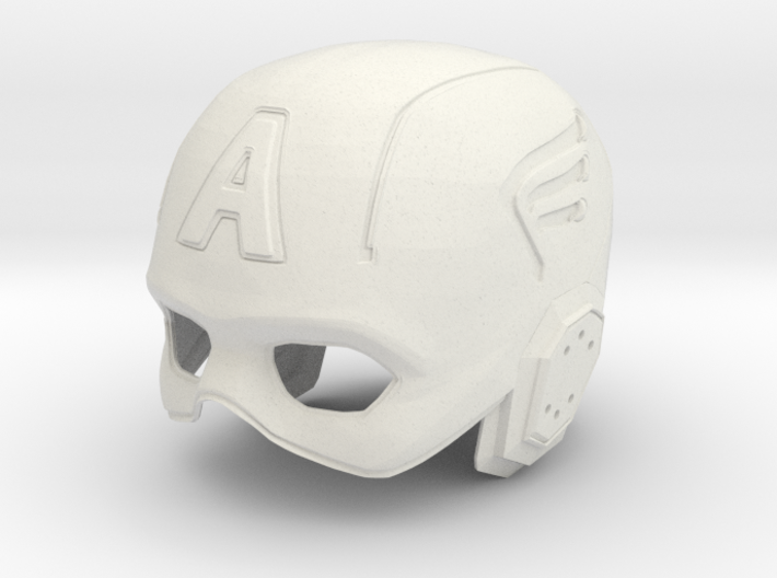 Captain America: Avengers Movie Helmet 3d printed