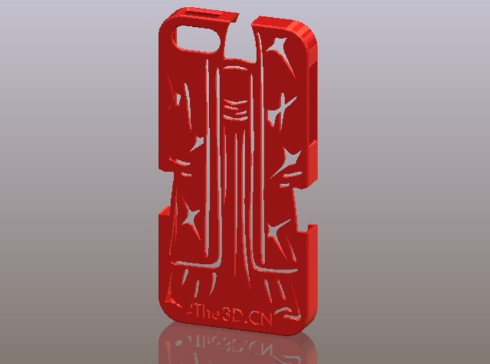 iPhone5_The Chinese Style -- Ancient costume 09 3d printed