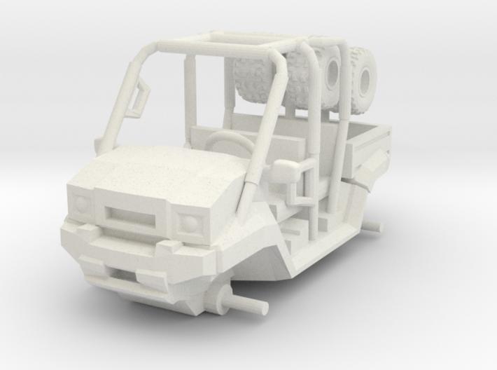1/64 Scale MULE 4 Seat 3d printed