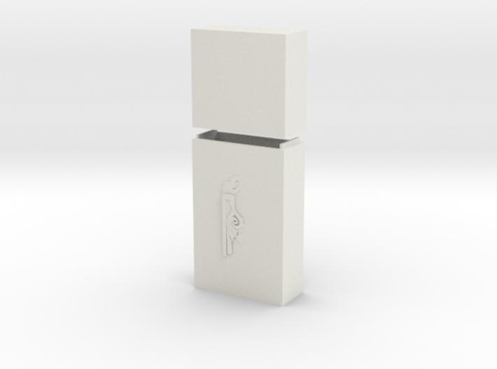 """Keychain """"Gárgola"""" 3d printed"""