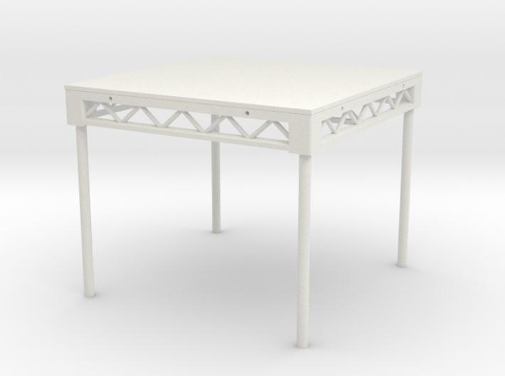1:25 Platform 4x4 with legs 3d printed