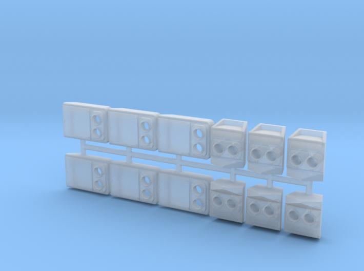 SP Rebuilt Headlight Cluster Pack (N - 1:160)(6X) 3d printed