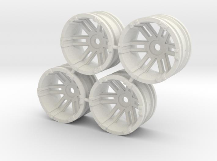 """Rim Fuel 1/8"""" offset - Losi McRC/Trekker 3d printed"""