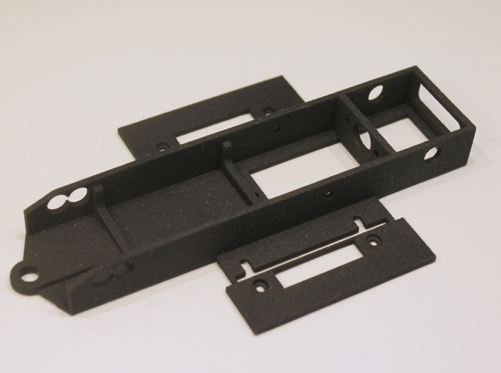 NWP2L Chassis for WP CanAm wb 94 and 100mm 3d printed