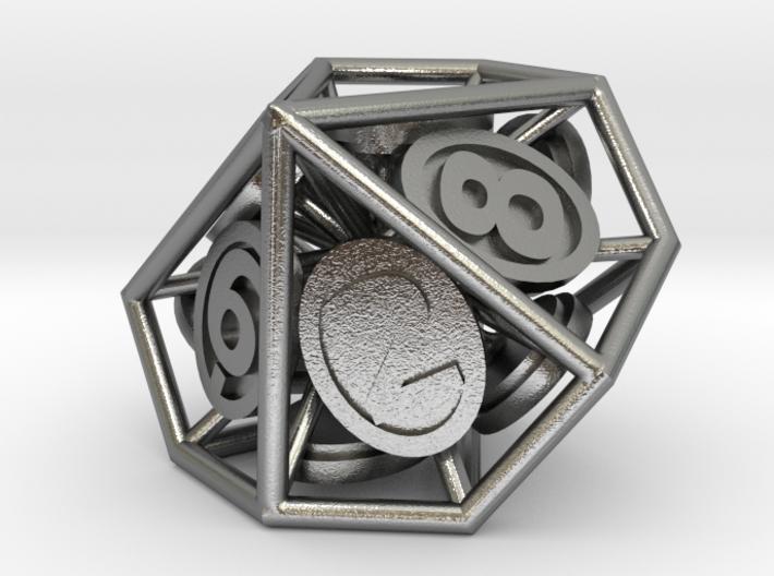 10-Sided Vector Die (10s%) 3d printed