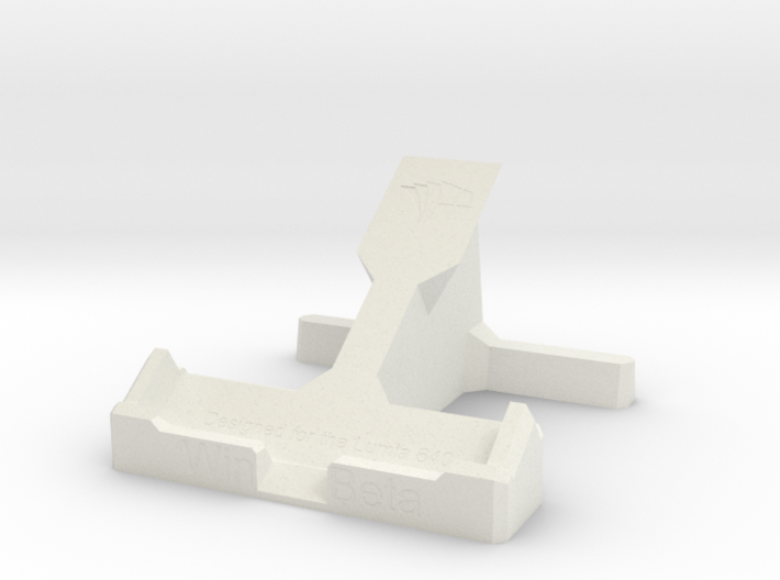 Lumia 640 Stand 3d printed